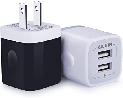 Amazon.com: Cargador de pared USB, adaptador de carga ...