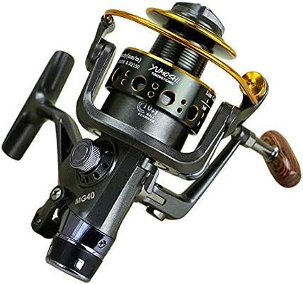 Pesca Spinning Carrete 10 + 1 BB Doble Freno Delantero y Trasero ...
