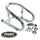 PINGEL 6.5 REMOVABLE CHROME WHEEL CHOCK FOR HARLEY (ZZ 3911-0001) by Pingel