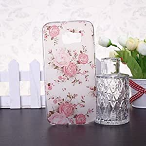 ZX Beauty Flowers Rose Pattern TPU Soft Case for Samsung Galaxy S6 G9200