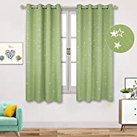 BGment Room Darkening Curtains for Kid's Room- Silver...