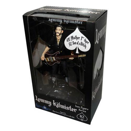 Articulated Figural - Action Figure - Lemmy Kilmister - Motorhead Toy Statue -Icon Series Licensed NEW