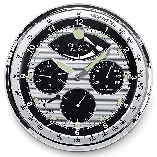 (Citizen Classic Wall Clock Silver Tone CC2013)