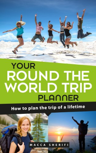 amazon com your round the world trip planner how to plan the trip