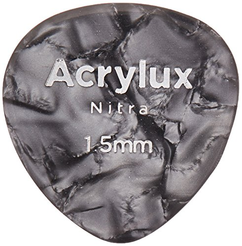 (Planet Waves by D'Addario 2AN7-03 Acrylux Guitar Picks, Mandolin 1.5MM, 3-Pack, Nitra )