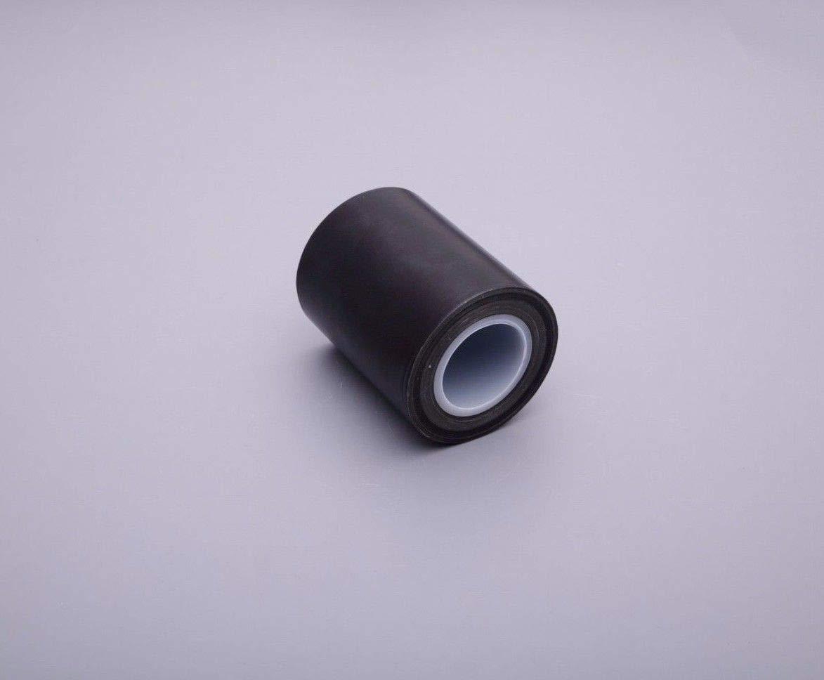 3''x10m Black PTFE Teflon Tape Nonstick Tape 500℉ High-Temp Fiberglass Adhesive Tape