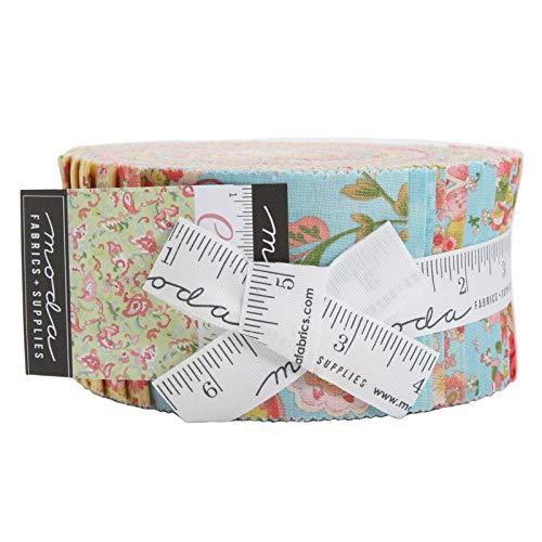 - Chez Moi Coco Jelly Roll 40 2.5-inch Strips Moda Fabrics 33390JR