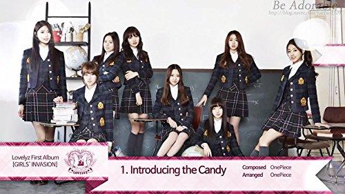 LOVELYZ [GIRLS INVASION] 1st Album CD+Photobook+2p Photocard+Tracking Number K-POP SEALE
