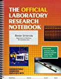 Official Laboratory Research Notebook, Jones and Bartlett Publishers Staff, 0763708151