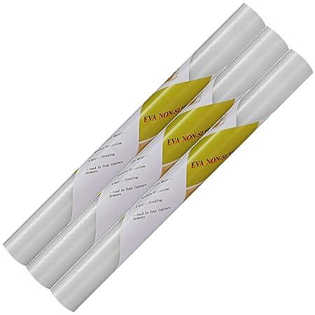 3 rollos de alfombrillas antideslizantes para nevera, alfombrillas ...