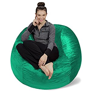 Sofa Sack – Bean Bags Memory Foam Bean Bag Chair, 4-Feet