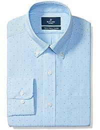 Men's Classic Fit Pattern Non-Iron Dress Shirt
