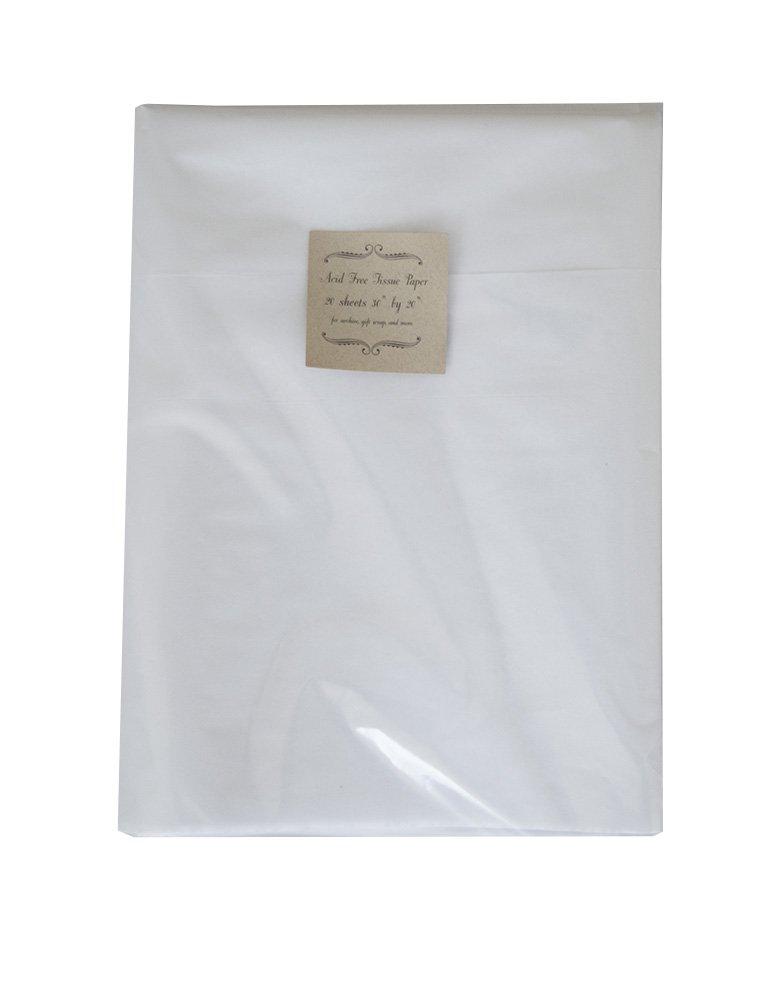 hobbyland usa Acid Free Tissue Paper ph Neutral 20 Sheets 20x30