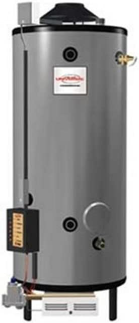 Rheem G91-200 Natural Gas Universal Commercial Water Heater, 91 Gallon
