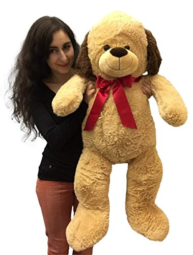 3 Foot Giant Stuffed Puppy Dog 36 Inch Soft Big Plush Stuffed Animal - 51EKyVHYjVL - 3 Foot Giant Stuffed Puppy Dog 36 Inch Soft Big Plush Stuffed Animal