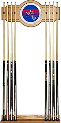 NBA Phoenix Suns Cue Rack with Mirror Brown One Size