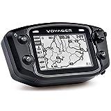 Trail Tech 912-119 Black Voyager GPS Digital Gauge Kit, 1995-2019 KTM Honda Yamaha Kawasaki Suzuki