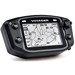 """Trail Tech Voyager GPS The Voyager GPS is designed specifically to meet the needs of off-road enthusiasts. With Voyager GPS you can download, record, and share maps with ease, all while monitoring vital engine data. The 2.7"""" TFT Transflectiv..."""