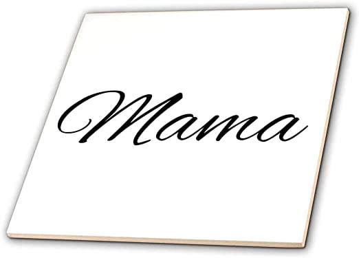 Amazon Com 3drose Ct 193695 1 Mama Word For Mom In Different Languages Mother In Dutch Polish Ceramic Tile 4 Inch Home Kitchen
