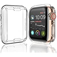 KING UP Case for Apple Watch Screen Protector Series 6 (2020) Series SE (2020) Series 5 Series 4 Series3 Series2 Series1…