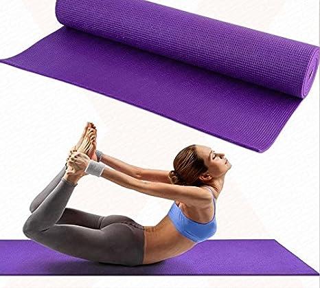 Esterilla para yoga, gimnasio, fitness, aeróbic, pilates ...
