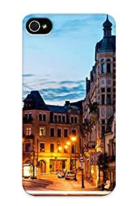Iphone 4/4s Ikey Case Cover Skin : Premium High Quality Dresden Germany Case(nice Choice For New Year's Day's Gift)