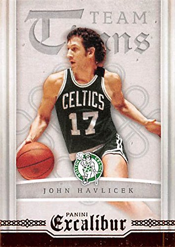 - John Havlicek basketball card (Boston Celtics) 2016 Panini Excalibur #22