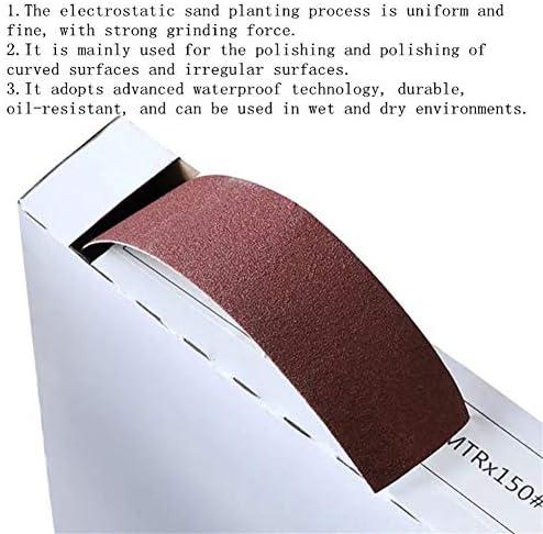 Sanding Discs for Wood Turners Woodworking Metal Grinding Polishing 50 Meters 150-600 Grit Box Sanding Belt Roll Drawable Emery Cloth Sandpaper Sanding Pack Roll (Size : 240#)