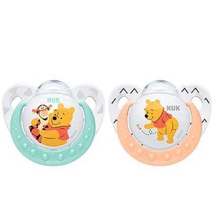 NUK 10729904 Disney Winnie The Pooh Chupete - 0 - 6 meses: Amazon.es ...