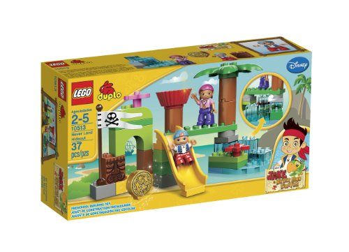 LEGO DUPLO Never Land Hideout (Jake And The Neverland Pirates Cubby)