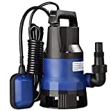 Yescom 1/2 HP 2112GPH 400W Submersible Dirty Clean Water Pump Swimming Pool Pond Heavy Duty Water Transfer