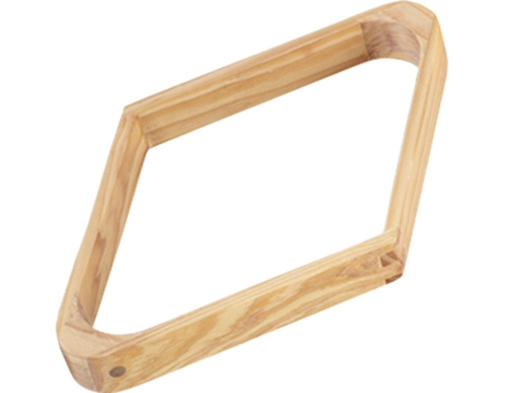 CueStix International Wood 9-Ball Diamond Rack