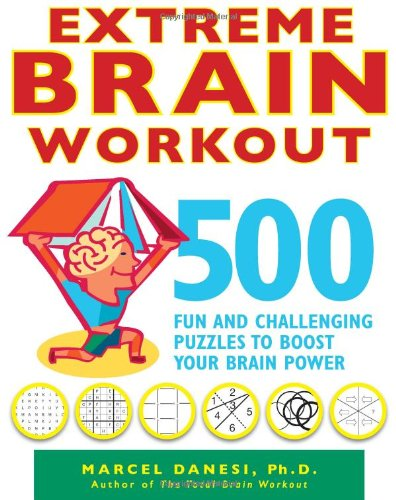 Extreme Brain Workout Challenging Puzzles product image