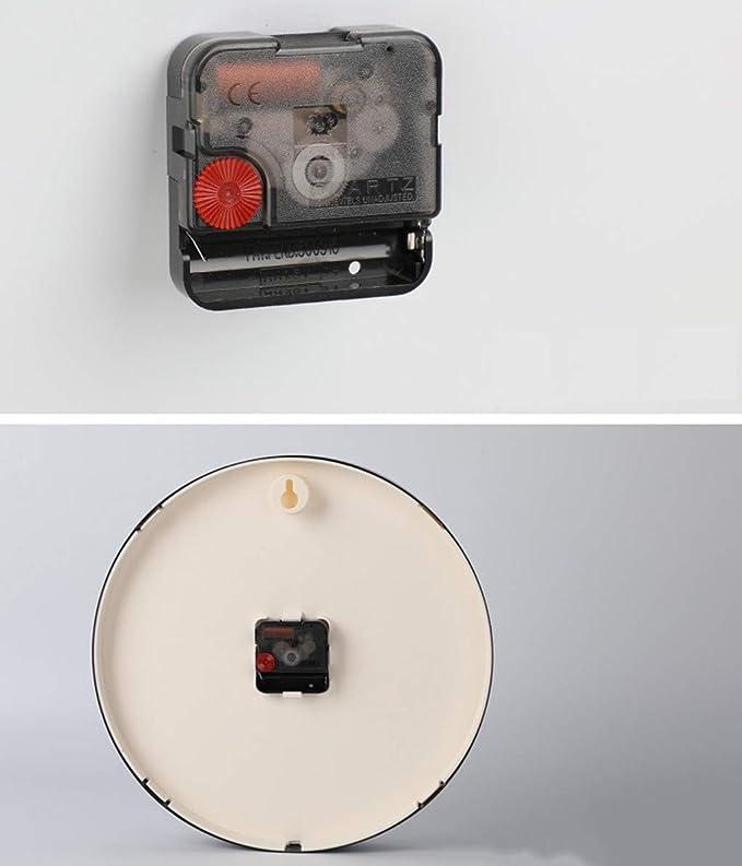 FLMGZ Reloj de Pared, Reloj Minimalista Moderno Reloj casero Reloj de Pared Sala de Estar Personalidad Moda Creativa Wind Nordic Dormitorio Cuadros de Pared ...