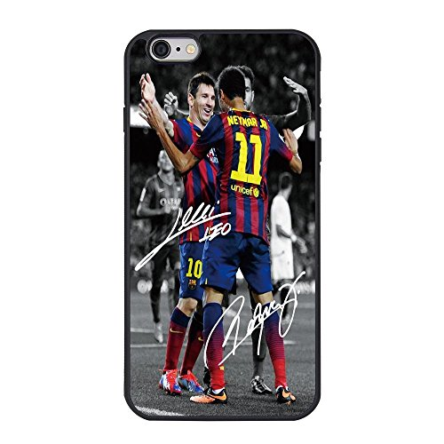 Messi and Neymar Barcelona iPhone 6 6s Plus Back Cover Case TPU Case (5.5 inch)