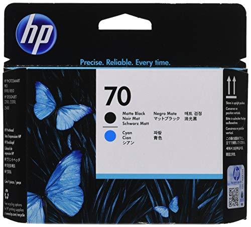 HP 70 (C9404A) Matte Black/Cyan Printhead