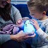 LED Nursery Bear Night Light for Kids LumiPets Cute Animal Silicone Baby Night Light with Touch Sensor - Portable and Rechargeable Infant or Toddler Color Changing Bright Nightlight & Baby Gifts