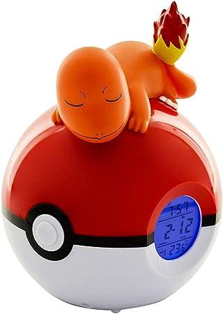 TEKNOFUN Pokémon Despertador Digital con Difusor de Luz Charmander ...