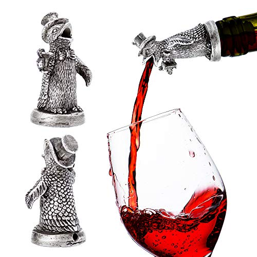 Stainless Steel Animal Wine Pourer & Aerator(Penguin) NEW DESIGNS AVAILABLE