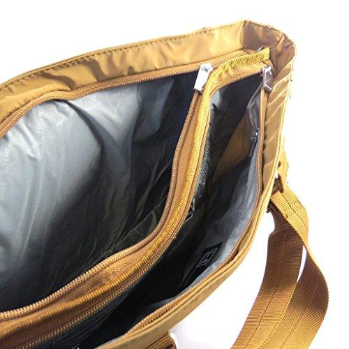 Bag hedgren cammello (speciale calcolatore 13)2 scomparti.