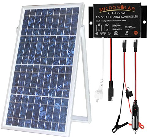 microsolar-30w-solar-charger-kit-plug-play-ip68-waterproof-solar-charge-contoller-18-ft-cable-option