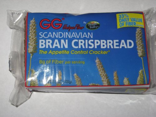 GG Bran Crispbread, 3.5-Ounce Boxes (Pack of 30) by GG
