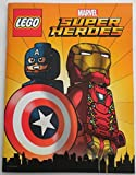 LEGO Marvel Comics Super Heroes Comic Book with Folded Poster Avengers SDCC 2016 Iron Man Dr. Strange
