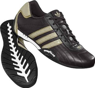 Adidas dga racer basso m (46 2 / 3] / uk 11 ½ brown: scarpe