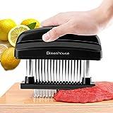 Meat Tenderizer, DIWENHOUSE Kitchen Tenderizers Stainless Steel Needle   Kitchen Tenderizers for Tenderizing, BBQ, Marinade & Flavor Maximizer