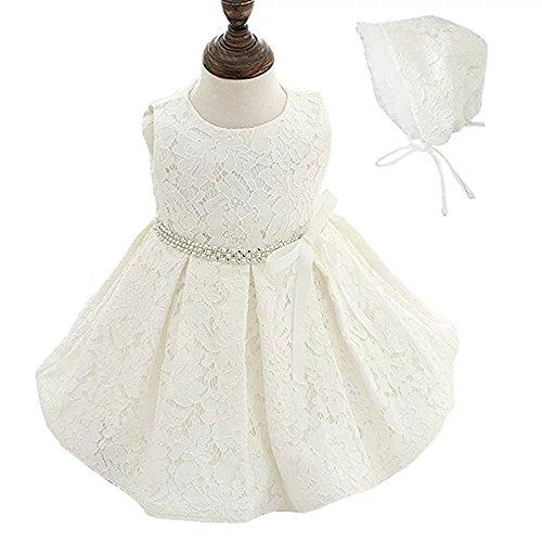 linen baptism dress - 5