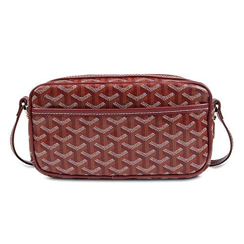 Stylesty Designer PU Leather Camera Crossbody Bag,Fashion Camera Cross Body Shoulder Handbag for Women