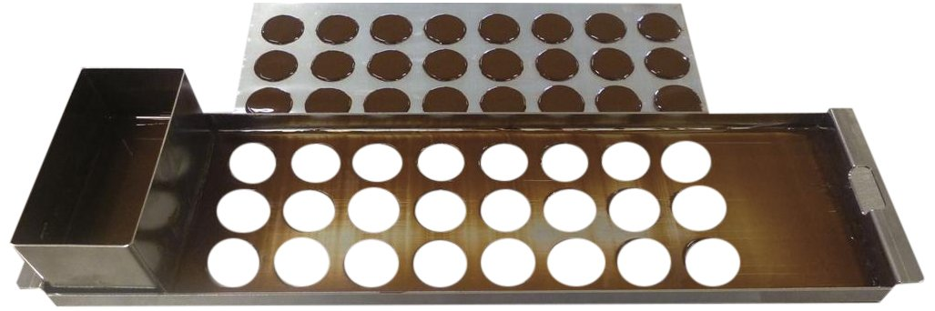 Matfer Bourgeat 385040 Kits for Making Chocolate Tuiles and Discs