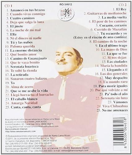 Canta Sus Propias Rancheras 50 Canciones: Jose Alfredo Jimenez ...