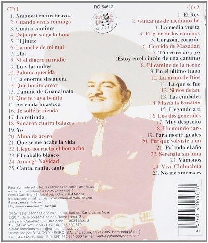 Canta Sus Propias Rancheras 50 Canciones: Jose Alfredo Jimenez: Amazon.es: Música